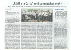 ruetlialacart